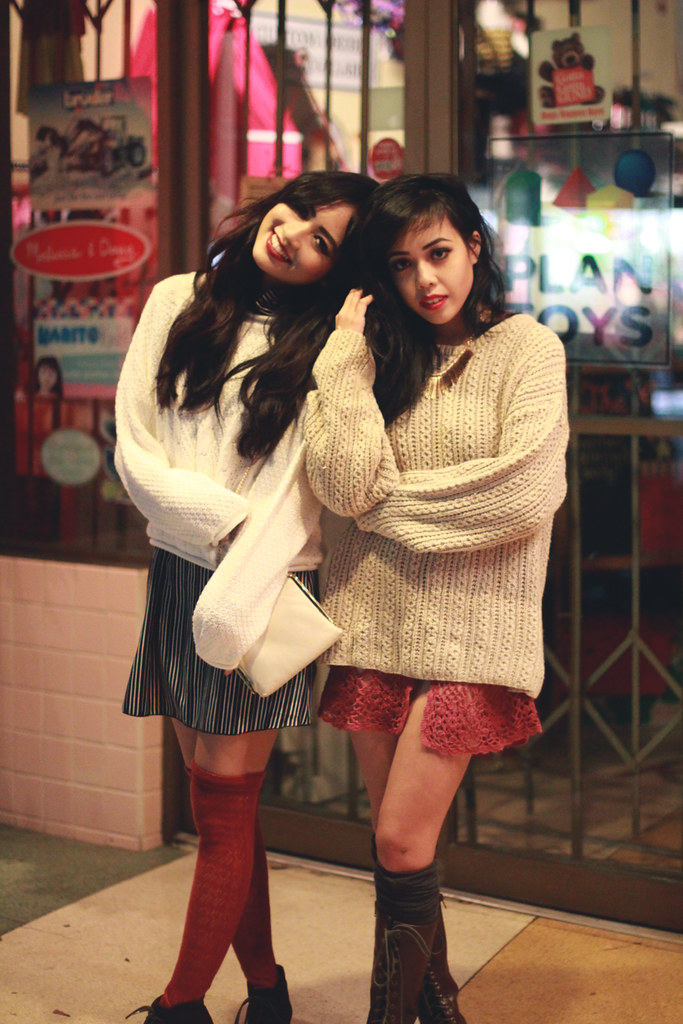 Andria and Amy Pham for Tarte Vintage Holiday 2012 Lookbook