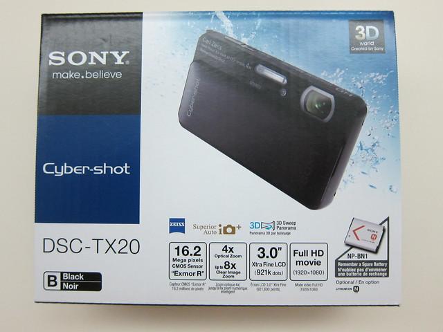 Sony Cyber-shot DSC-TX20 - Box Front