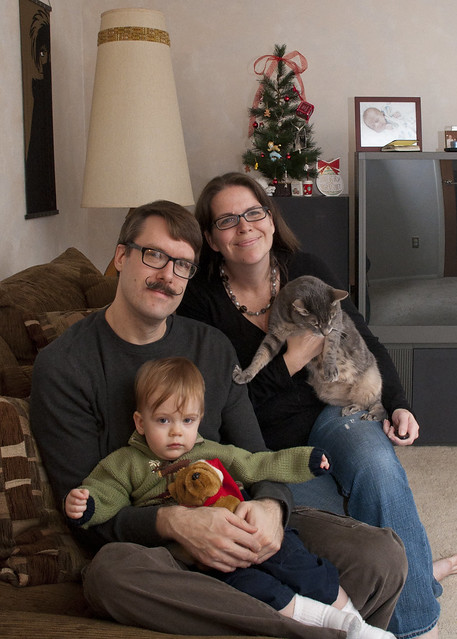 Schnuth Family Christmas Portrait 2012