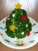 ブロッコリーのクリスマスツリー