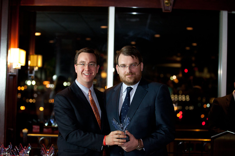 Daniel Ureña recibe el Victory Award 2012 - Blog del Año
