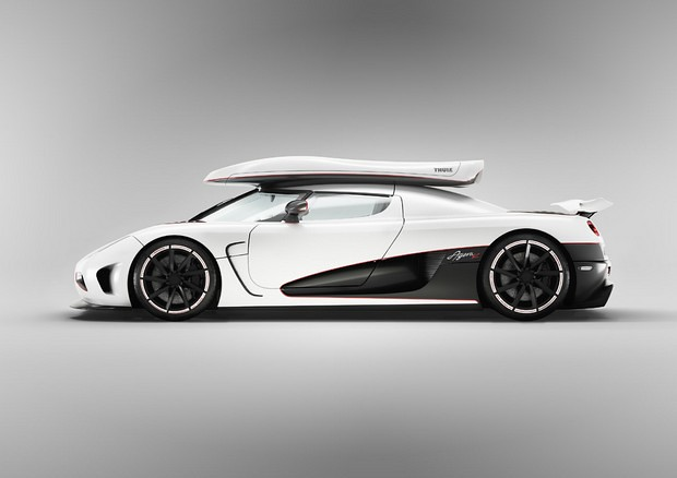 Photo:2012 Koenigsegg Agera Ski Cargo Carrier By:Motor74
