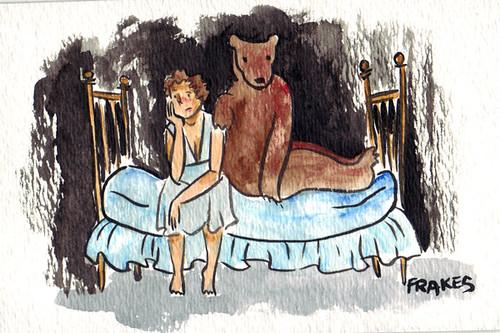 bear-bed