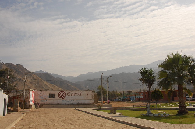 Main Plaza of Caral