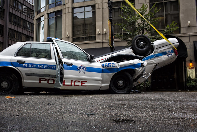 Chicago Police Cars Flipped Flickr Photo Sharing