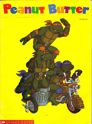 Scholastic PEANUT BUTTER #46 ; featuring TEENAGE MUTANT NINJA TURTLES i (( 1990 ))