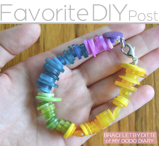 favorite diy post braclet