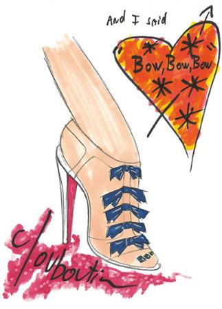 20 sapatos para 20 anos de Christian Louboutin