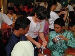 Xinmin Secondary School Hari Raya celebrations for Muhammadiyah Welfare Home