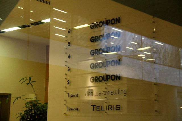 Groupon HQ at Number One Swan Lane