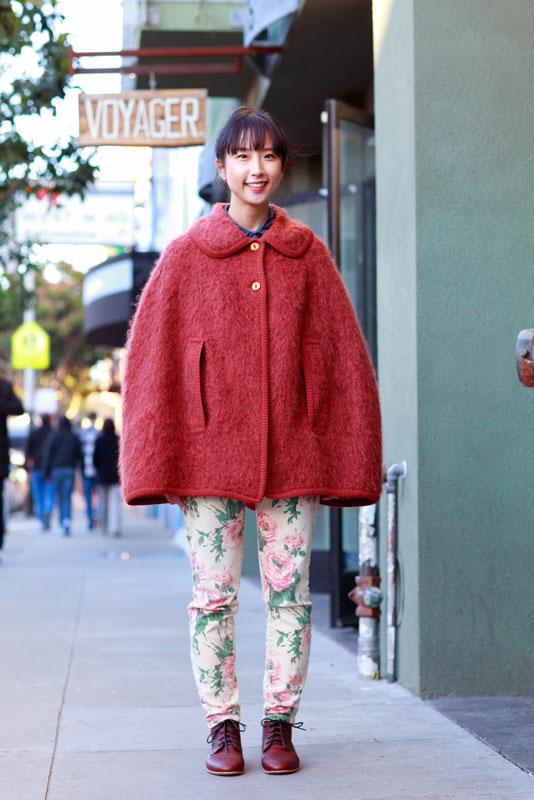 emiko street style, street fashion, women, San Francisco, Valencia Street,