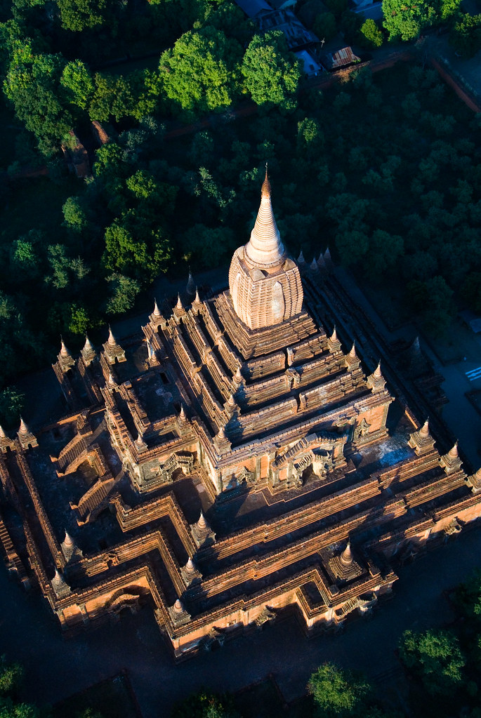 Bagan Hot Air Balloon View