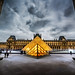 The Glowing Louvre by Stuck in Customs