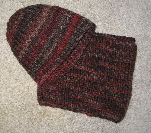 Debs hat cowl set