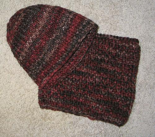 Debs hat cowl set