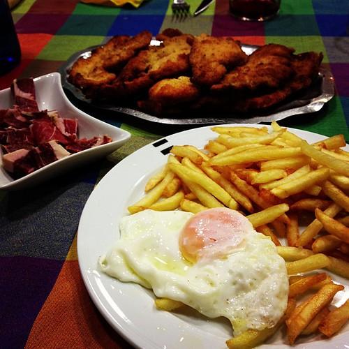 Primera comida de 2013 :p