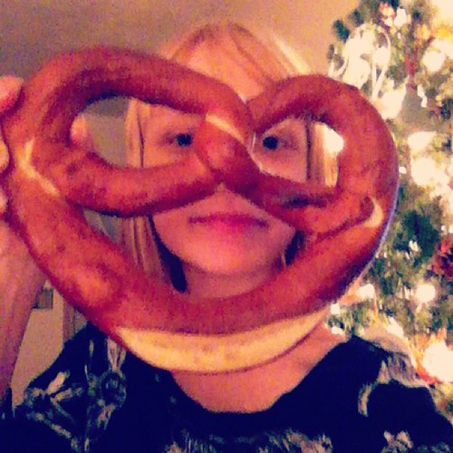 New year's pretzel!!