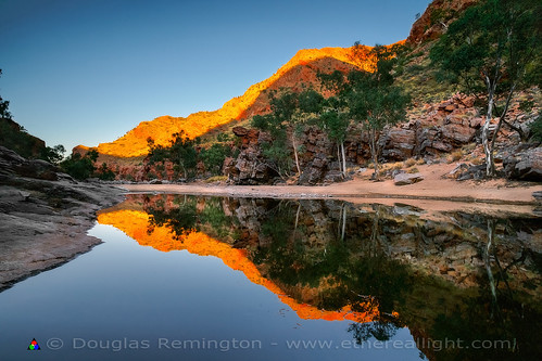 Ormiston Reflection by Douglas Remington - Ethereal Light™ Photography