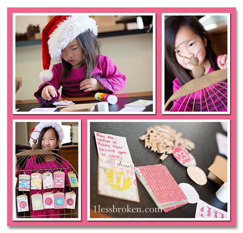 BLOG kindness advent collage