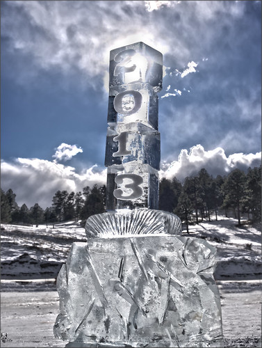 sculpture ice colorado evergreen 2013 80439