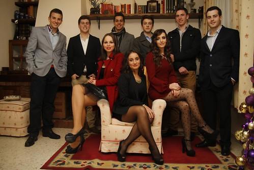 Los jóvenes barreños reciben el 2013 by AlPecino