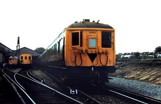 86-403 Ashford Chart Leacon Open Day: preserved 2-BIL Unit No. 2090