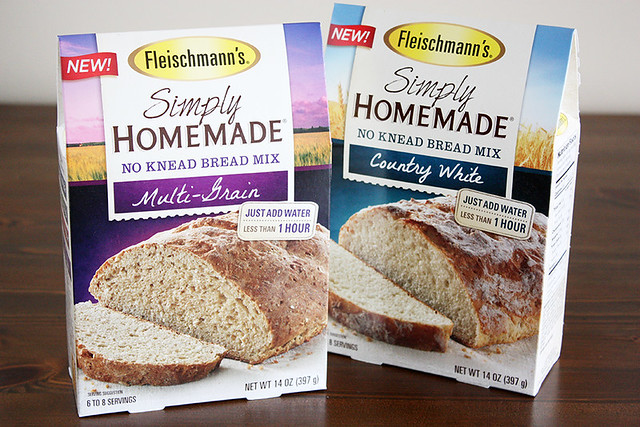 simply homemade bread mix.