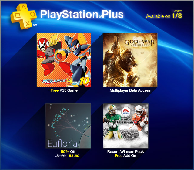 PlayStation Plus Update 1-7-2013
