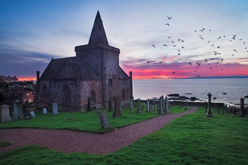 St. Monans Parish Church, Fife by svensl