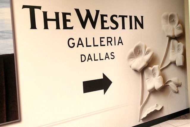 Westin Galleria Dallas Entrance