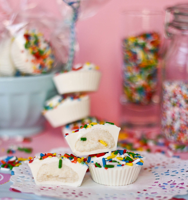 delicious Cake Batter Candy Cups