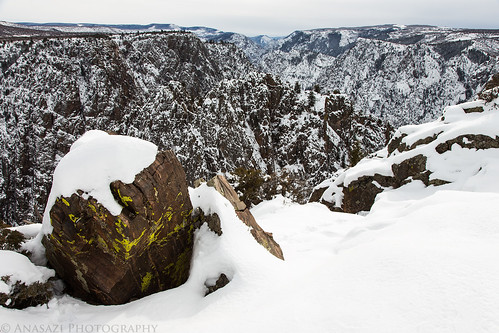 winter snow nationalpark colorado 2012 blackcanyon gunnisonriver adventr randylangstraat anasaziphotography