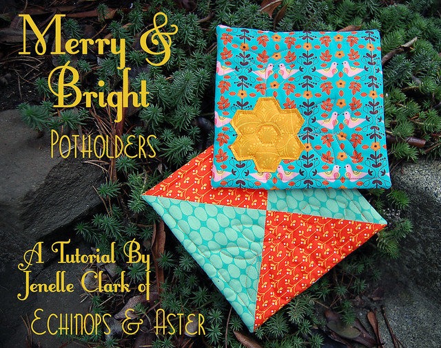 Merry & Bright Potholders