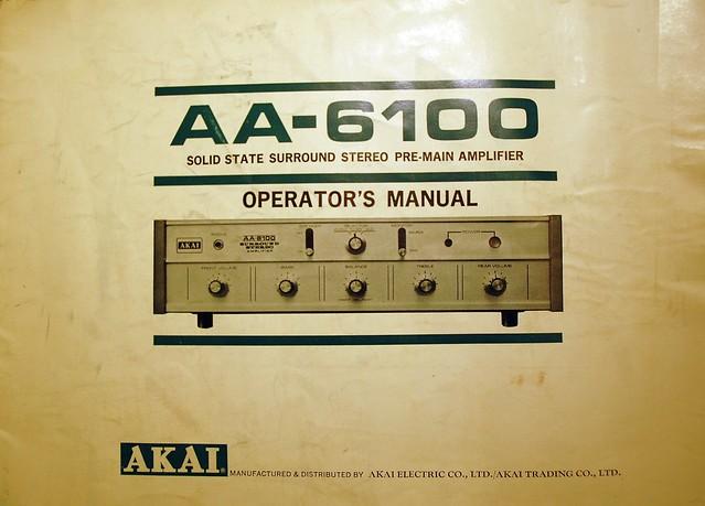Akai AA-6100