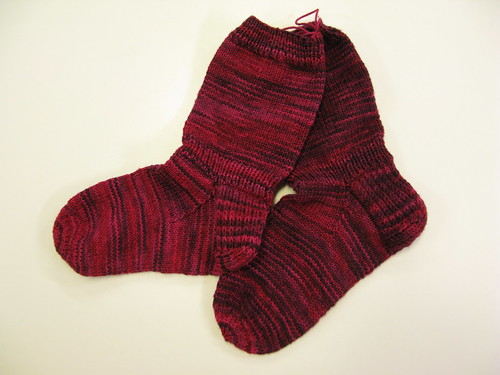 Socks I knitted