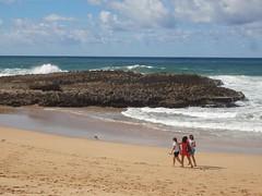 Praia de Oualidia na Costa Atlântica