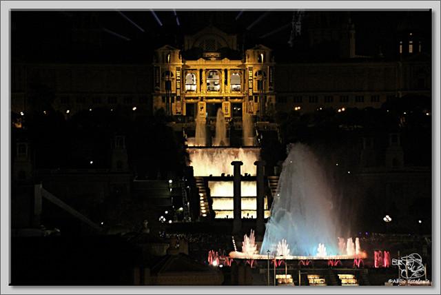 13 Fuente Mágica de Montjuic. Barcelona