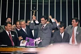 Aécio Neves - Eleição da Presidência da Câmara dos Deputados - 14/02/2001