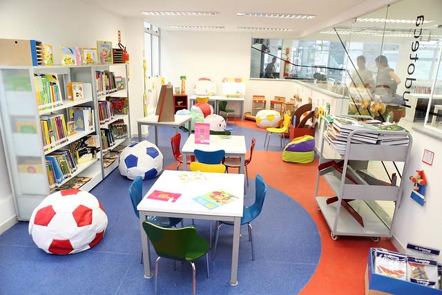 biblioteca rocinha