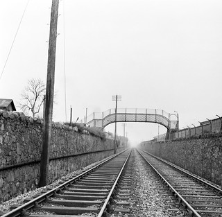 Railway Footbridge at Churchtown, Dublin