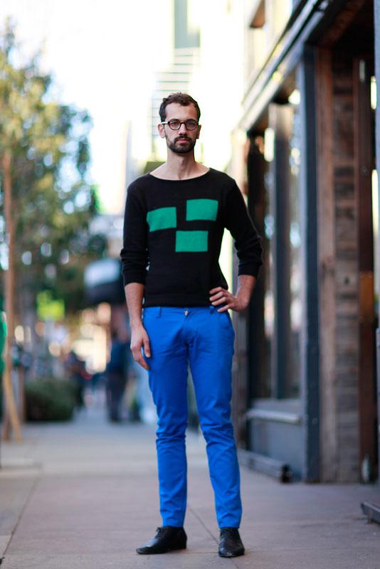 josh_4b street style, street fashion, men, San Francisco, Valencia Street