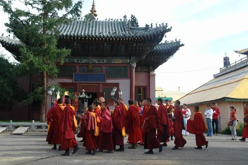 Templo de Vajradhara, un Buda de la práctica tántrica. Gandantegchinlen Khiid, el espíritu tibetano de Ulan-bator - 8377901277 7a33c20ec2 - Gandantegchinlen Khiid, el espíritu tibetano de Ulan-bator