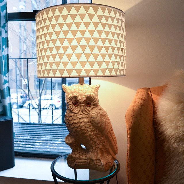 DIY Triangle Lamp Shade