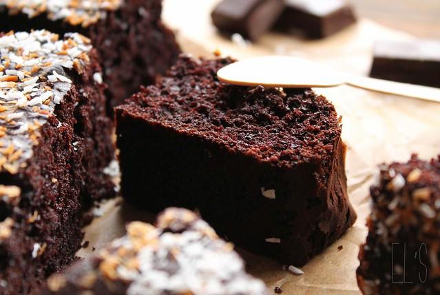 Sponge cake au chocolat