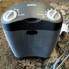 a ceramic space heater