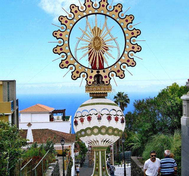 Corpus Christi Arc, Villa de Mazo. Image Patronato Turimo La Palma
