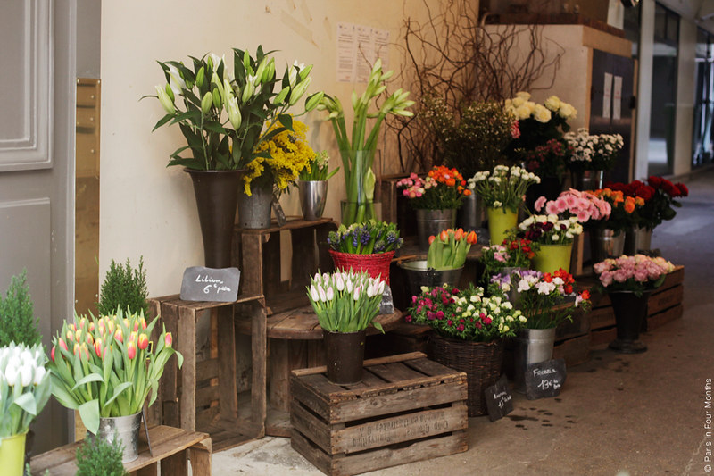Flowers shop by Carin Olsson (Paris in Four Months)