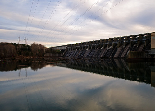 water clouds structures dams