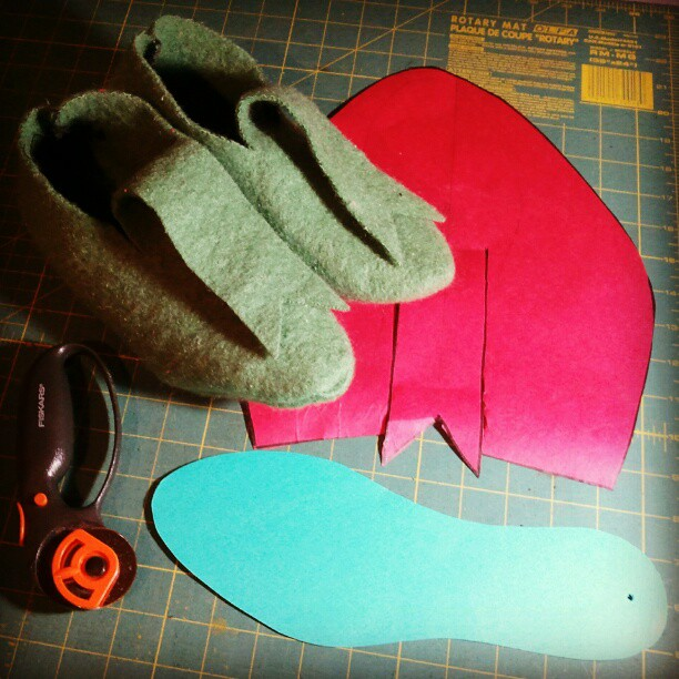 #woolfelt #shoshone #style #slippers