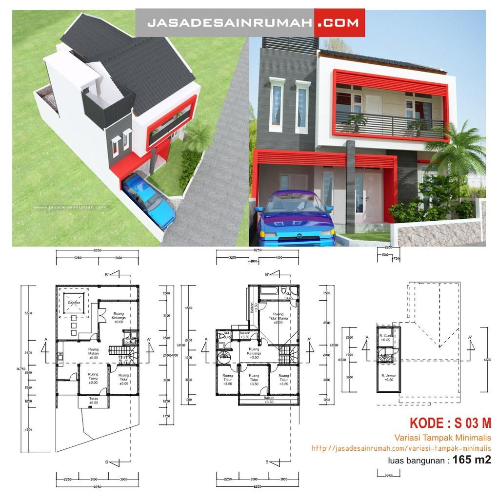 desain rumah modern minimalis 2 lantai di jakarta 2012 desain rumah ...